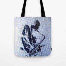 Sax Music Poster Tote Bag