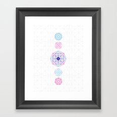 Geometric Mandalas Framed Art Print
