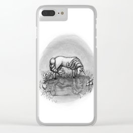 The Transformation: Elise the Unicorn Clear iPhone Case