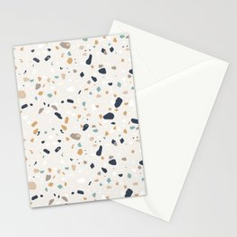 Terrazzo Trending Pattern - Saffron Stationery Cards