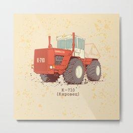 K-710 Kirovec Metal Print