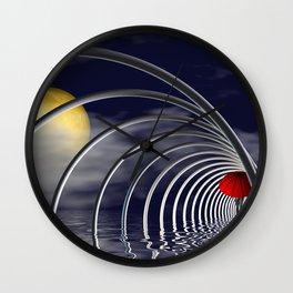 farewell -100- Wall Clock