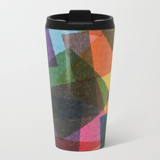 Square Miles. Metal Travel Mug
