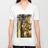 alchemy V-neck T-shirts featuring Alchemy by John Hansen