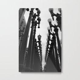 Museum's lights Metal Print