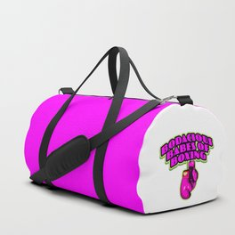 Bodacious Babes Of Boxing Duffle Bag
