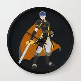 Marth(Smash)Black Wall Clock