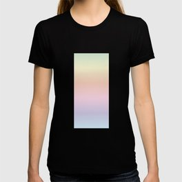 pastel rainbow T-shirt