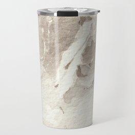 Clear Quartz Crystal Watercolor Travel Mug