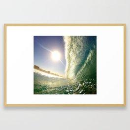 Big Barrel Framed Art Print