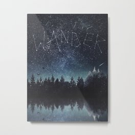 Its written in the stars Metal Print