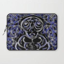 Peacefull Alien Laptop Sleeve