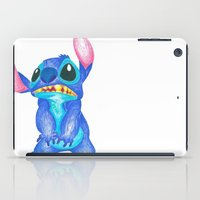 lilo and stitch iPad Cases featuring Stitch by Kailan Harris (TheLonelyZero)