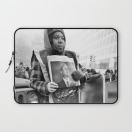 Newsgirl, 2013 Inauguration, Washington, DC. Laptop Sleeve