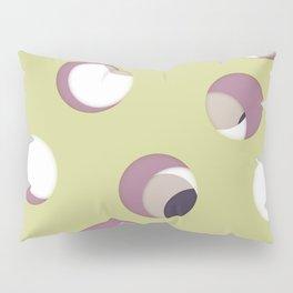 Cut the holes! Green sheet Pillow Sham