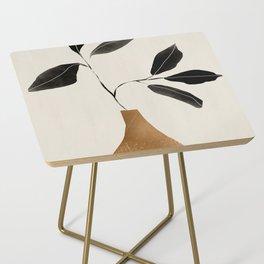 minimal plant 6 Side Table