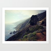 big sur Art Prints featuring Big Sur by FlavioSarescia