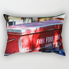 For Fire Use Only Rectangular Pillow