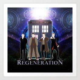 The Doctor Of Regeneration Art Print