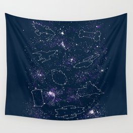 Star Ships Wall Tapestry