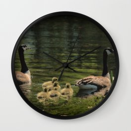 Family Outing Wall Clock