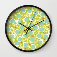 candy Wall Clocks featuring candy by ottomanbrim