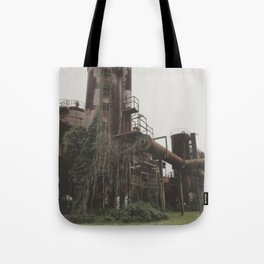 Draped Tote Bag