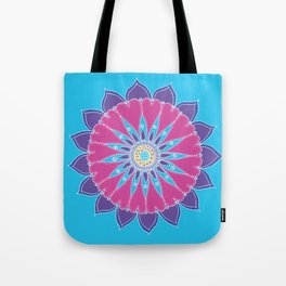 Heart Mandala Tote Bag