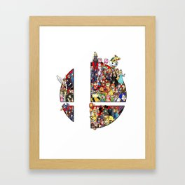 Ready to fight Framed Art Print