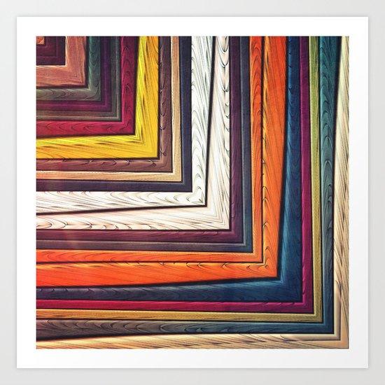 Geometric/Abstract V Art Print