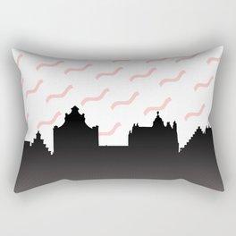 Cityline Design Rectangular Pillow