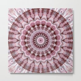 Mandala indian wedding Metal Print