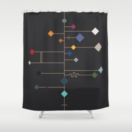 winter equinox Shower Curtain