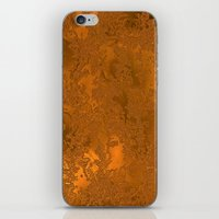 gold foil iPhone & iPod Skins featuring Gold Foil 10 by Robin Curtiss