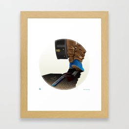 Can You Guess The Song Title? #1  Framed Art Print