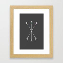 Killers (Gray) Framed Art Print