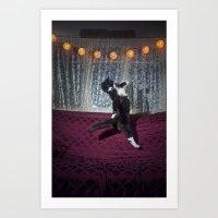 Kit the Cat Art Print