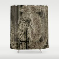lungs Shower Curtains featuring Diseased Lungs by tastypaper