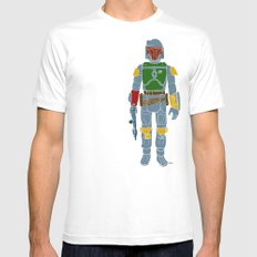 My Favorite Toy - Boba Fett Mens Fitted Tee White LARGE