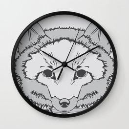 Pirate Fox Wall Clock