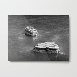 Two Tender Boats Metal Print