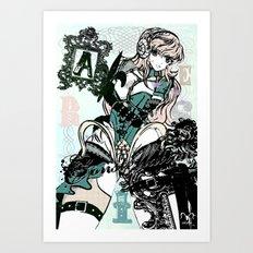 ARIES/ARMOR Art Print