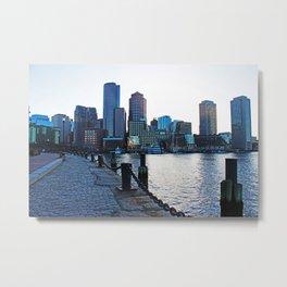 Harborwalk  Metal Print