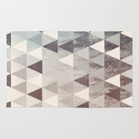 into the wild Area & Throw Rugs featuring WILD by Truth & Beauty Design