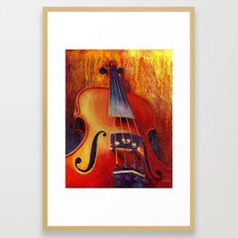 Fit as a Violin #3 Framed Art Print