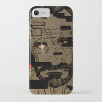 glitch iPhone & iPod Cases featuring Glitch by Margret Stewart