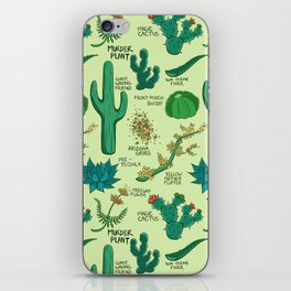 Native Desert Plants iPhone Skin