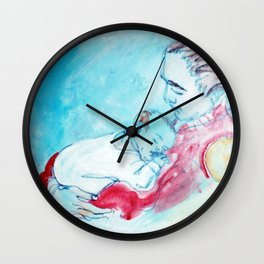 NEW ARRIVAL            by  Kay Lipton Wall Clock