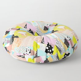 Postmodern Pyramids Floor Pillow