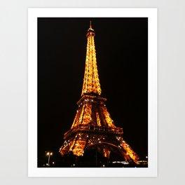 Eiffel Tower2 Art Print